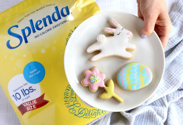 Easter No-Sugar Sugar Cookies With Splenda