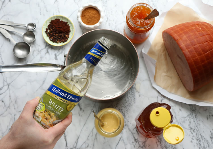 Holland House White Cooking Wine Easter Ham Recipe