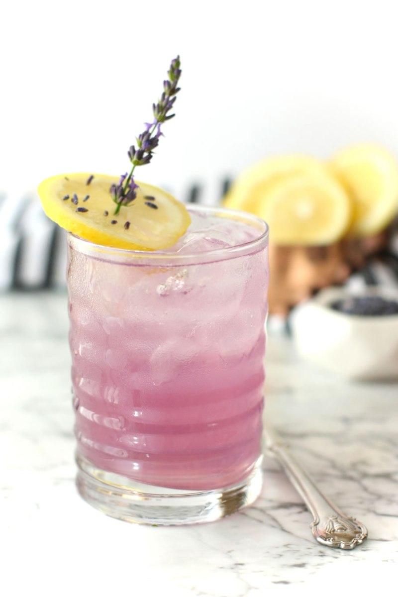 Manuka Honey Lavender Lemonade Recipe