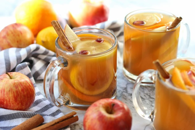 Easy Hot Mulled Cider Recipe Made With Stevia