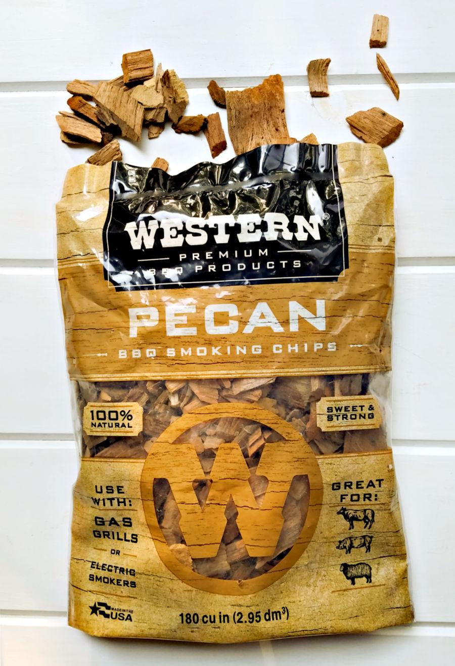 Bag of Pecan Wood Chips