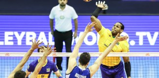 Liga das Nações: Brasil de Yoandy Leal encerra fase classificatória com vitória . Foto: CBV