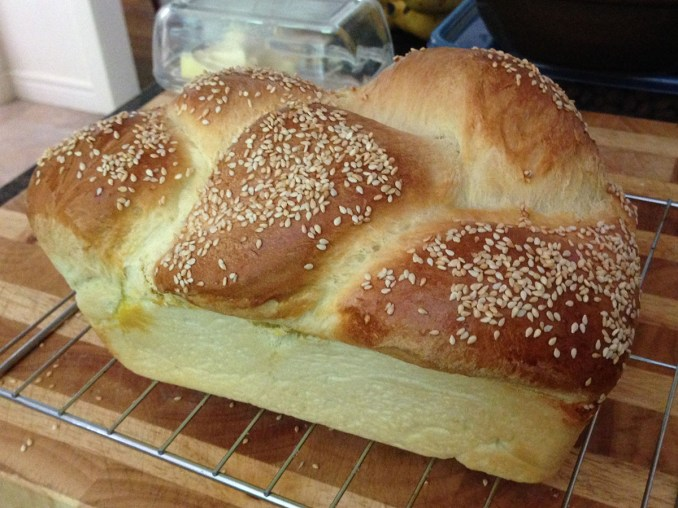 My First Challah - On Bread Alone
