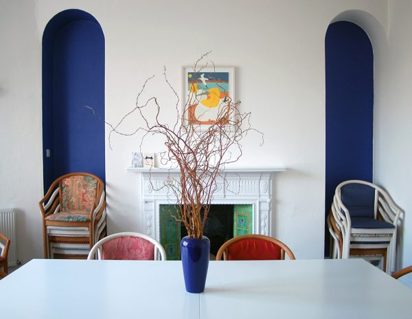 The meeting room at the gorgeous ONKA Gallery in Brighton is the venue for our weekend together