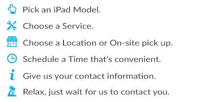 iPad Schedule Service