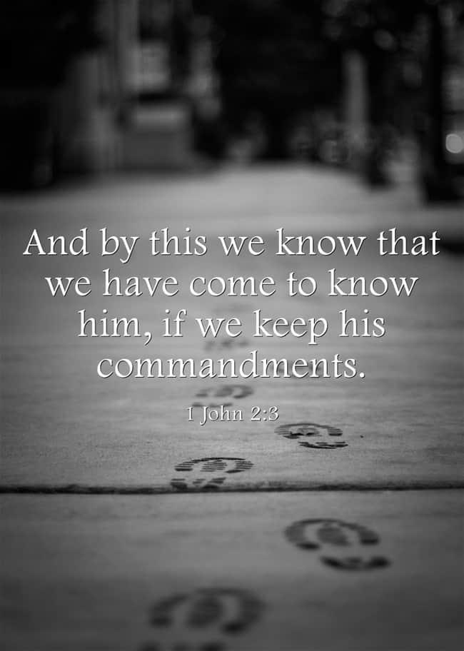 1Jn 2:3