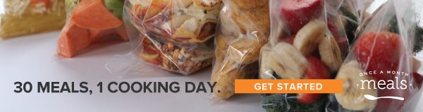 30 Meals, 1 Cooking Day. Get Started Now at Once a Month Meals