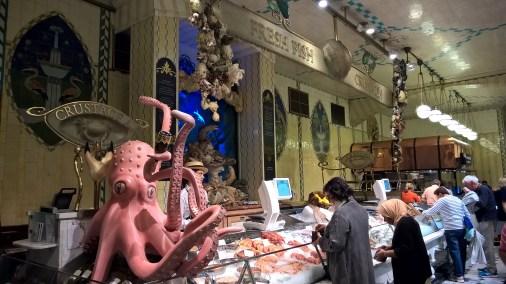 Food Hall du poisson et crustacés