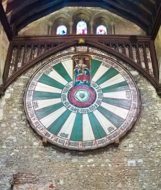 La table ronde du roi Arthur -The Great Hall