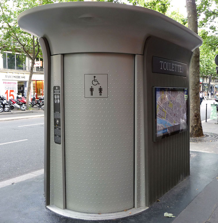 finding public restrooms in europe | travel tips | once in a