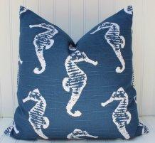Navy Blue Seahorse