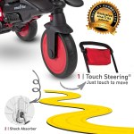 Smartrike Str7j 7 In 1 Folding Trike Red Our Lowest Price Ever Madd Gear Scooters More Onceit