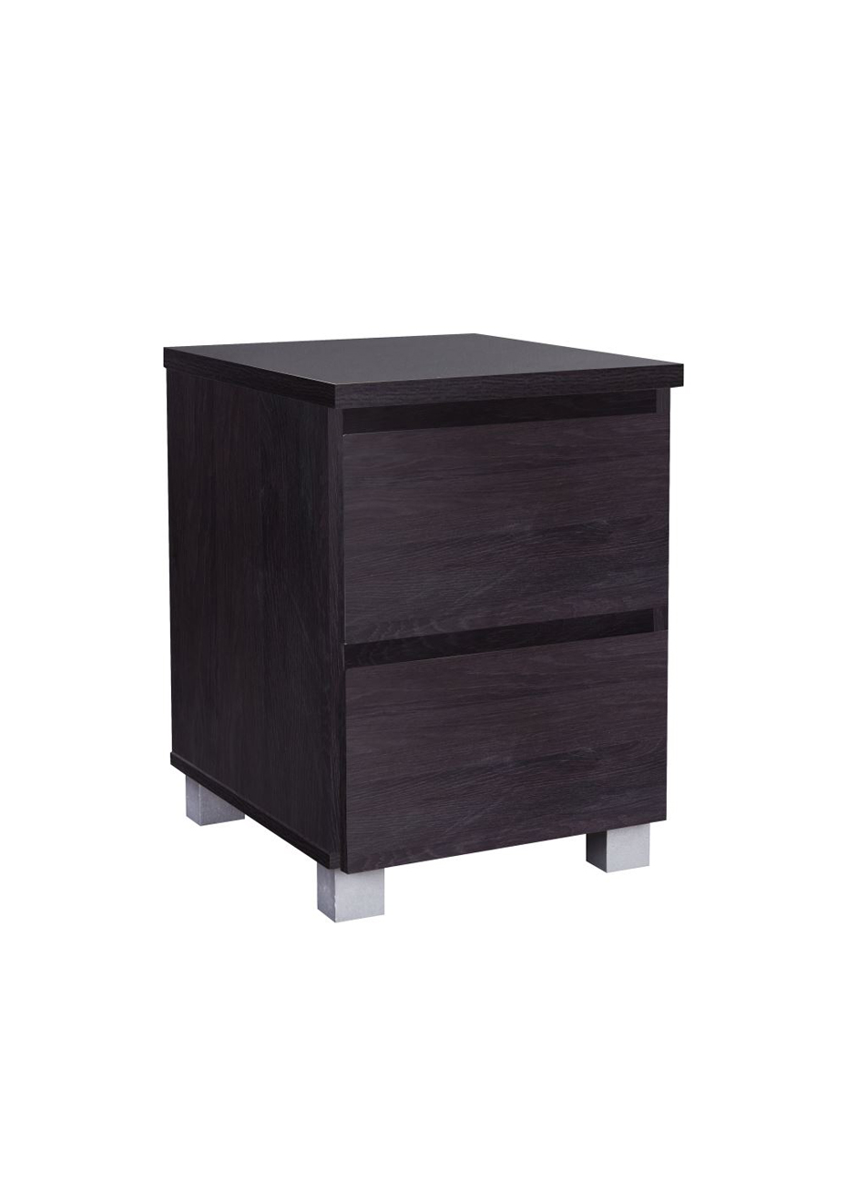 Night Stand Black Oak