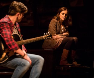 Landmark Productions presents Once at the Olympia Theatre, 30 June - 26 August, 2017 oncemusical.ie L-R Brian Gilligan and Niamh Perry. Photo:Patrick Redmond