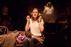 Landmark Productions presents Once at the Olympia Theatre, 30 June - 26 August, 2017 oncemusical.ie L-R Niamh Perry as Girl Photo:Patrick Redmond