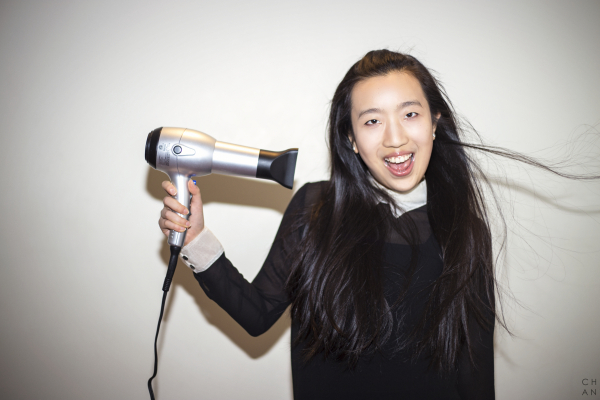 """""""I enjoyed the feeling of fresh air on my face and the wind blowing through my hair. It reminds me of my favorite things - singing and dancing on the stage. I feel free, energetic, happy and confident. It is also a great way to start the day, being fresh and stylish."""" – Kiki Shen #CELEBRATEWOMEN"""