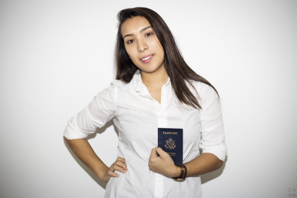 """""""Traveling empowers me to be a part of the world and to figure out my place. I love getting to know new people, cultures and places. I also recognize my US passport is a privilege. I love bringing my stories and experiences back to my family, and I carry these experiences with me everyday."""" - Malina Webb #CELEBRATEWOMEN"""