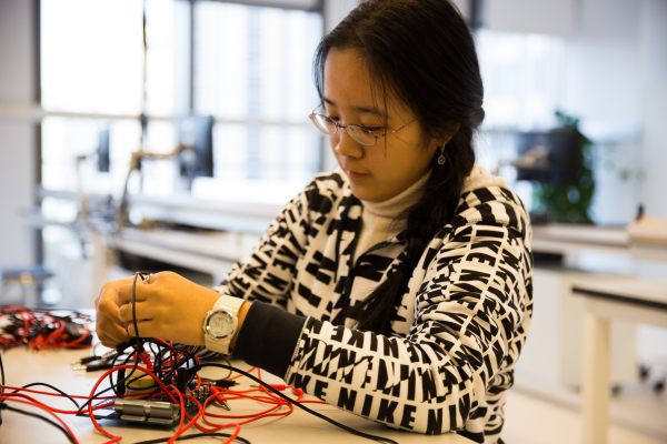 """""""I am empowered by viewing the world with a more microscopic and intrinsic angle. Everything in the end can all be reduced to similar patterns."""" - Sunyi Wang #CELEBRATEWOMEN"""