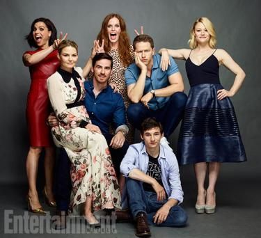 ONCE UPON A TIME Clockwise from top left: LANA PARRILLA, REBECCA MADER, JOSH DALLAS, EMILIE DE RAVIN, JARED GILMORE, COLIN O'DONOGHUE and ENNIFER MORRISON Comic-Con 2016 Day 3 - July 23, 2016 – San Diego, CA Photograph by Matthias Clamer
