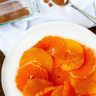 Oranges with cinnamon anyone? They are refreshing, warming and a lovely reminder of brighter days to come.