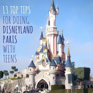 Top Tips for Doing Disneyland Paris with Teens