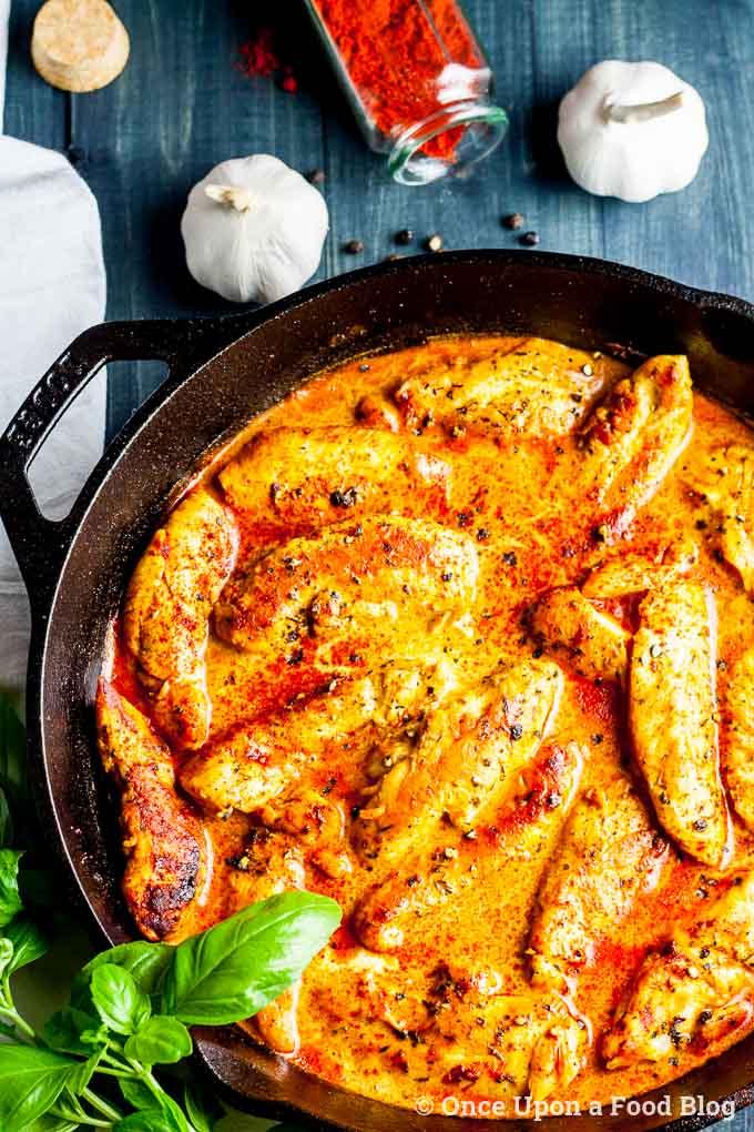 Paprika Cream Chicken