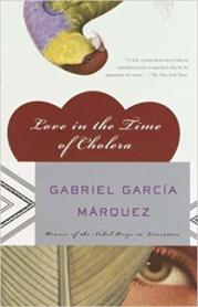 Love in the Time of Cholera by Gabriel Garcia Marquez is a top 3 favorite of all time for me.