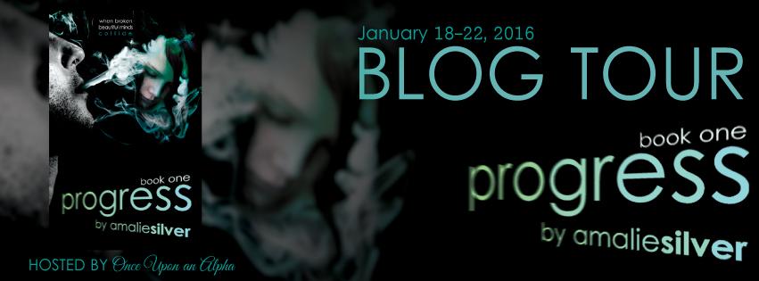 BLOG TOUR banner for progress copy
