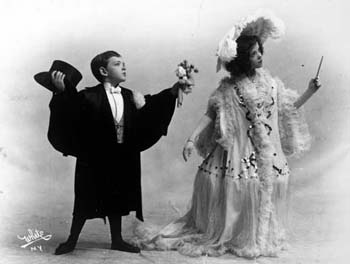 Fred Astaire and sister