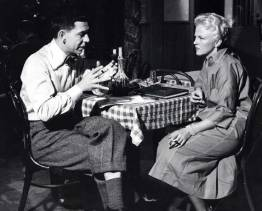 Webb and Peggy Lee on PETE KELLY'S BLUES, the movie