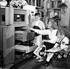 June Allyson and sons