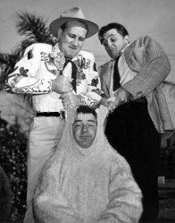 Costello with Abbott and Mitchum