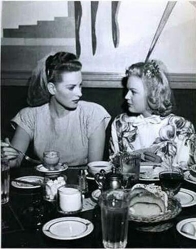Maureen and June Haver