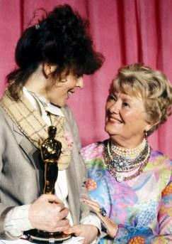 Diane Keaton and Janet Gaynor