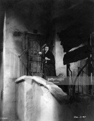 Janet Gaynor (1906 - 1984) in her Oscar-winning role as a helpless waif in the film 'Seventh Heaven', directed by Frank Borzage for Fox.