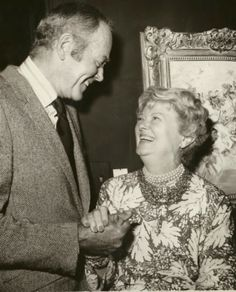 With Henry Fonda in the 1970s