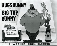 Bugs Bunny at the Circus in BIG TOP BUNNY (1951)