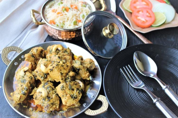 Shahi Murg – Chicken in royal cream & cashew sauce