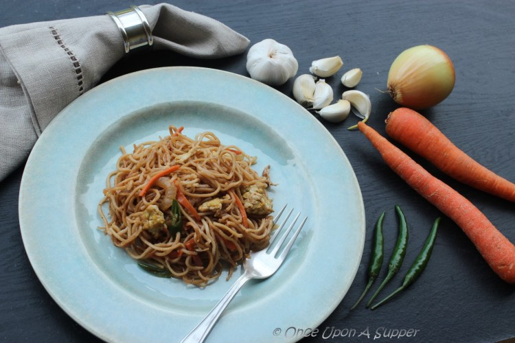 Indian style Chowmein — and a peep into India's street fast food culture