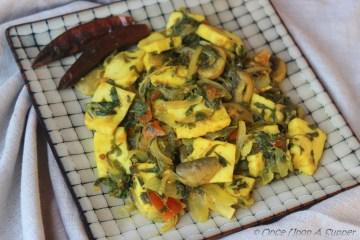 Humble and healthy, Methi Mushroom Paneer