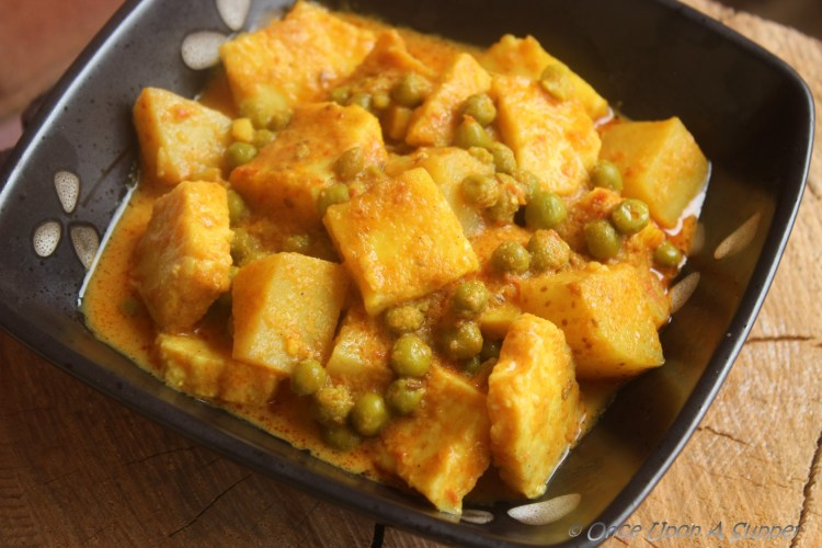 Aloo Matar Paneer — a bit of everyday spice and everything nice!