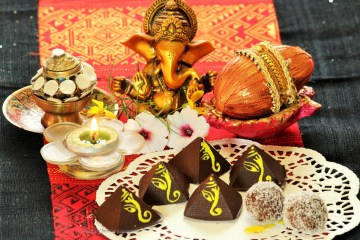 Ganpati chocolate Modak for Ganesh Chaturthi
