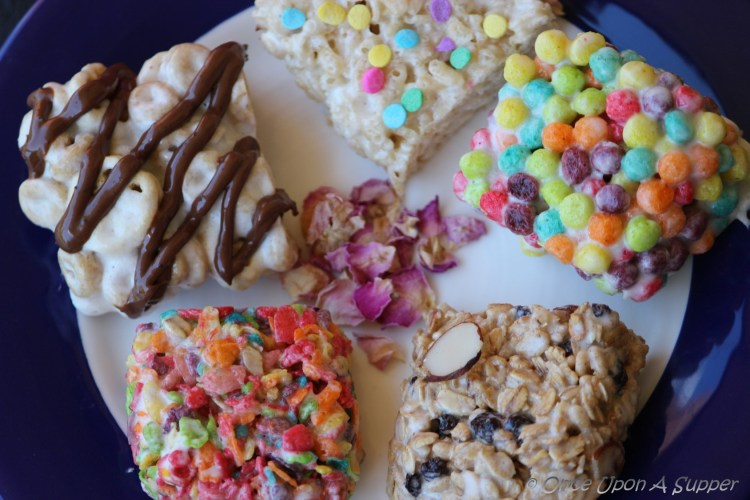Delicious marshmallow and cereal treats