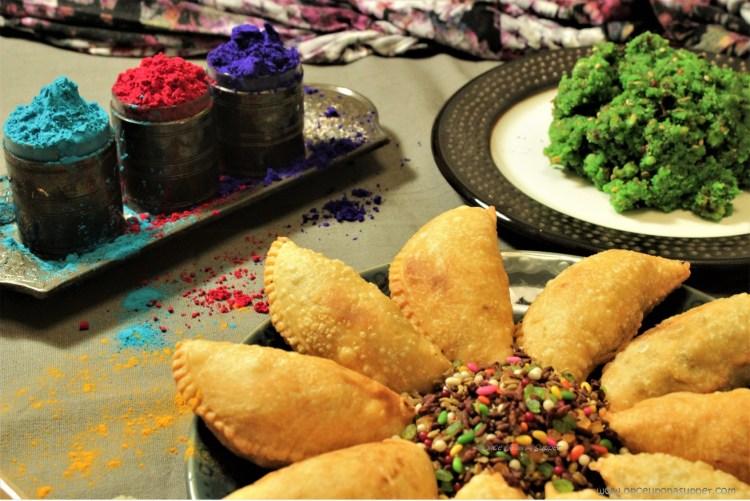 Banarasi Paan ki Gujiya -- Indian empanadas filled with sweet, mouth refreshing goodness