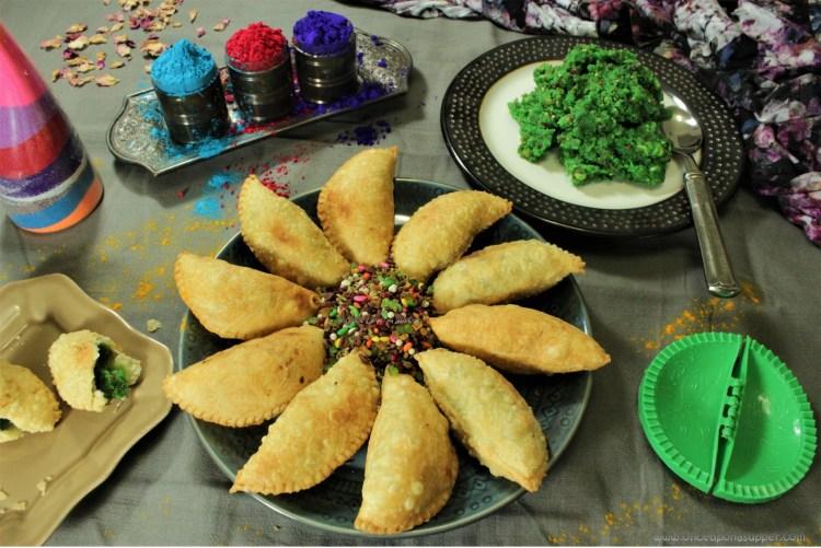 Banarasi Paan ki Gujiya — Indian empanadas filled with sweet, mouth refreshing goodness
