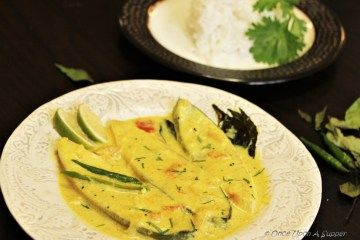 Pomfret Fish Moilee or Meen Moilee (Kerala style Fish Stew) -- tuning taste buds to a Malabar dance!