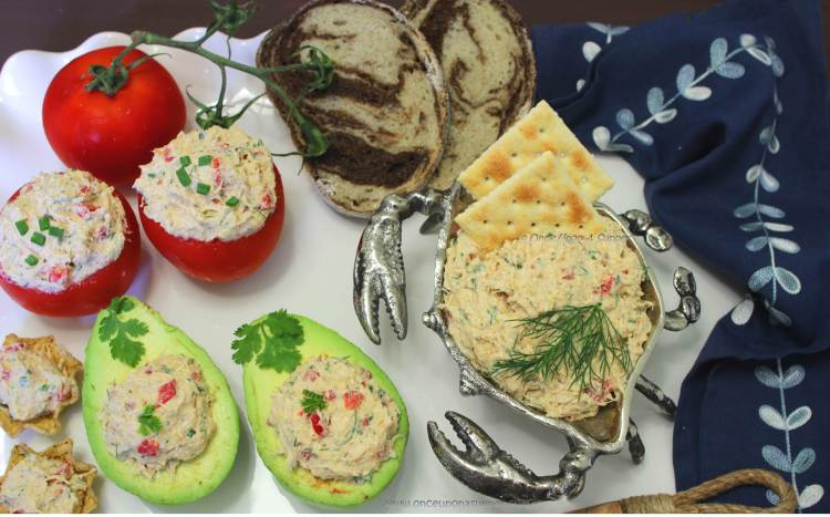Cold Lump Crab Meat Dip and Spread — it's deliciously spicy