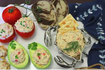 Cold Lump Crab Meat Dip and Spread -- it's deliciously spicy