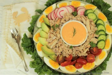 Crab Louie Salad and a deliciously forgiving dinner