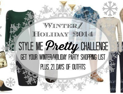 Last Call – Winter/Holiday 2014 Style Me Pretty Challenge